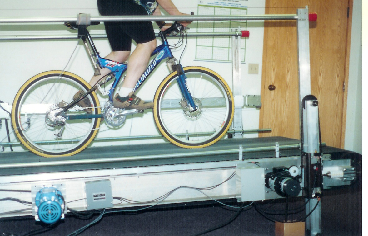 Cycling Treadmill - Inside Ride and E-Motion Rollers roots