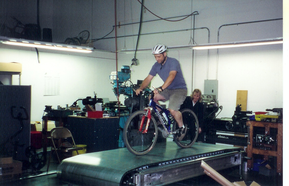 Cycling Treadmill Invention
