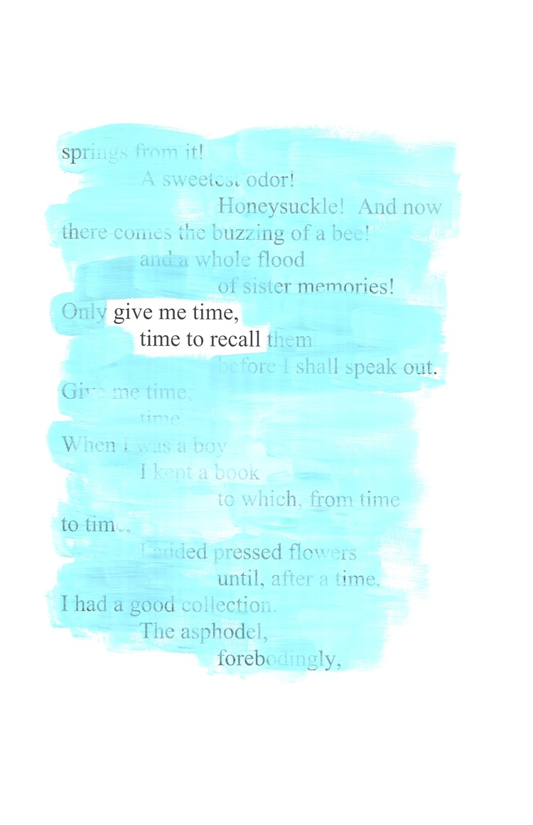 [asphodel], 2011. (full erasure published in SMOG)
