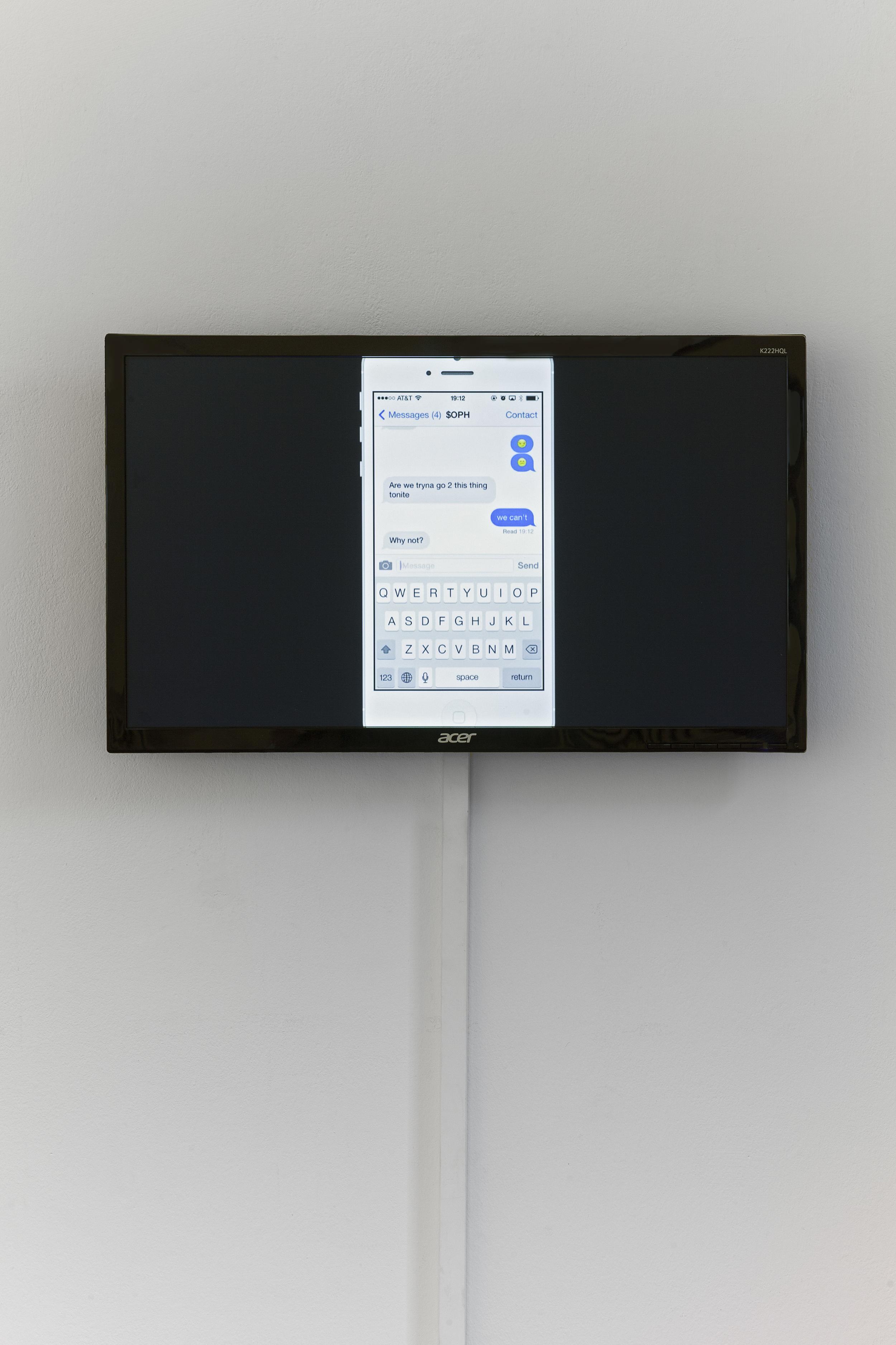Exhibition view Eugen Gomringer &, Bielefelder Kunstverein, 2015, photo:Philipp Ottendîrfer
