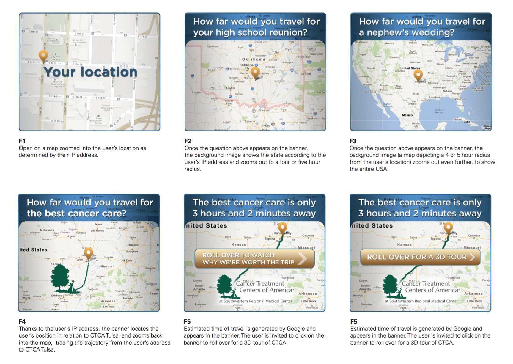 Location-based Banner Ad