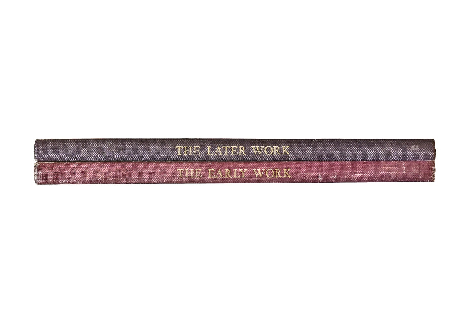 The Early Work / The Later Work,  2010