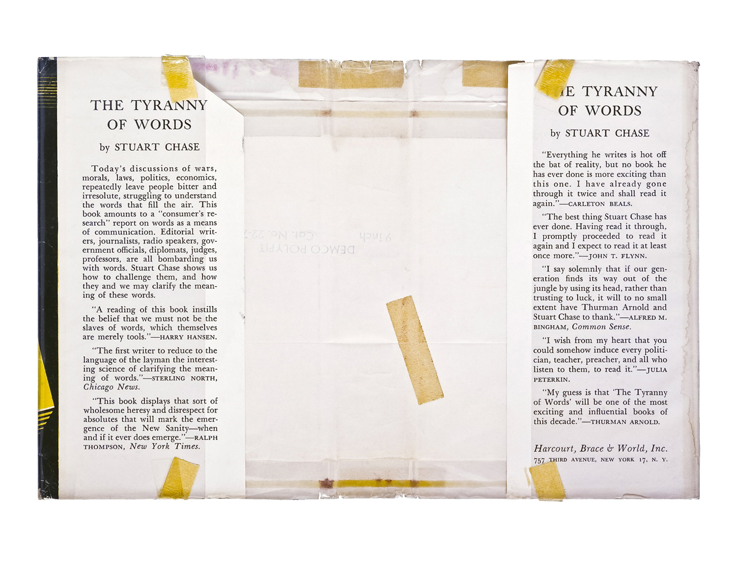 The Tyranny of Words,  2010