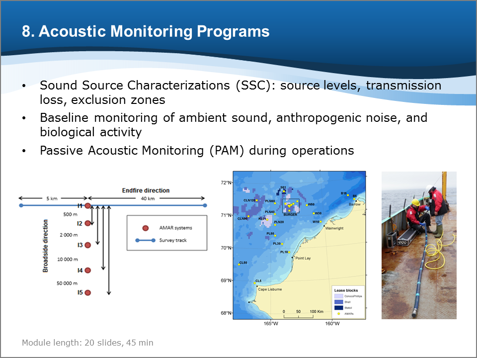 Bioacoustics Training Course: Acoustic Monitoring Programs