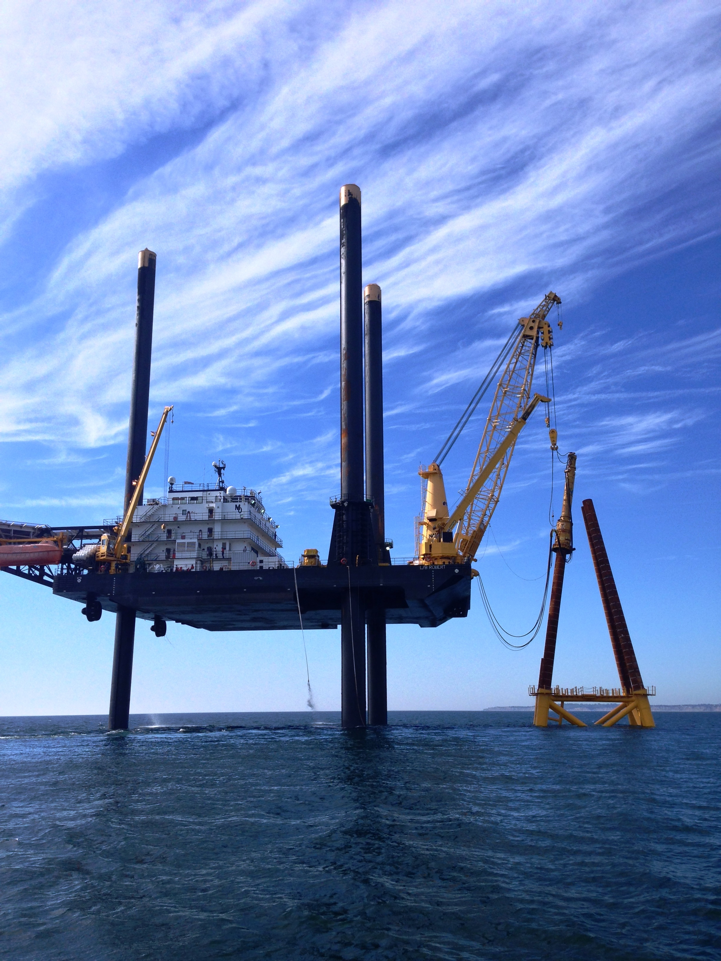 JASCO is measuring and monitoring underwater noise from construction of the first North American offshore wind farm.