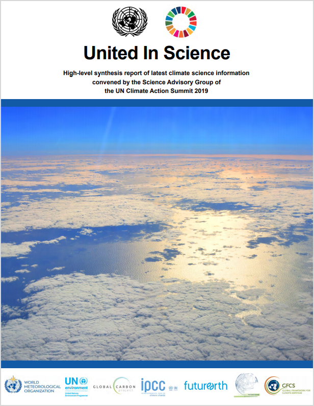 Read the full report at  World Meteorological Organization .