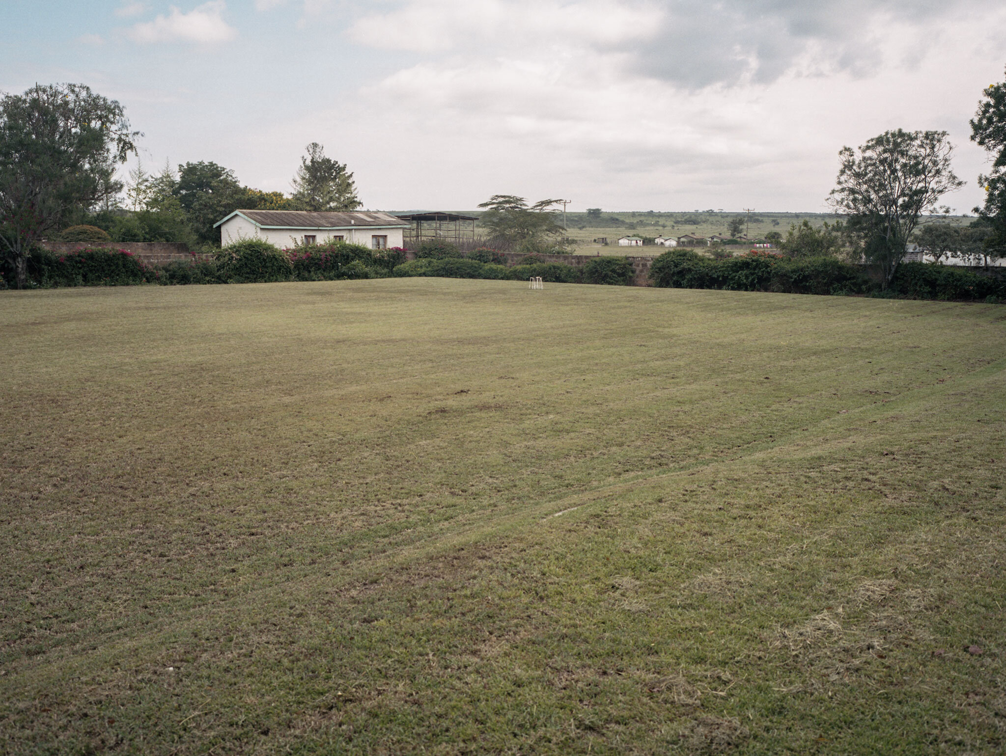 Lord Delamere's croquet lawn