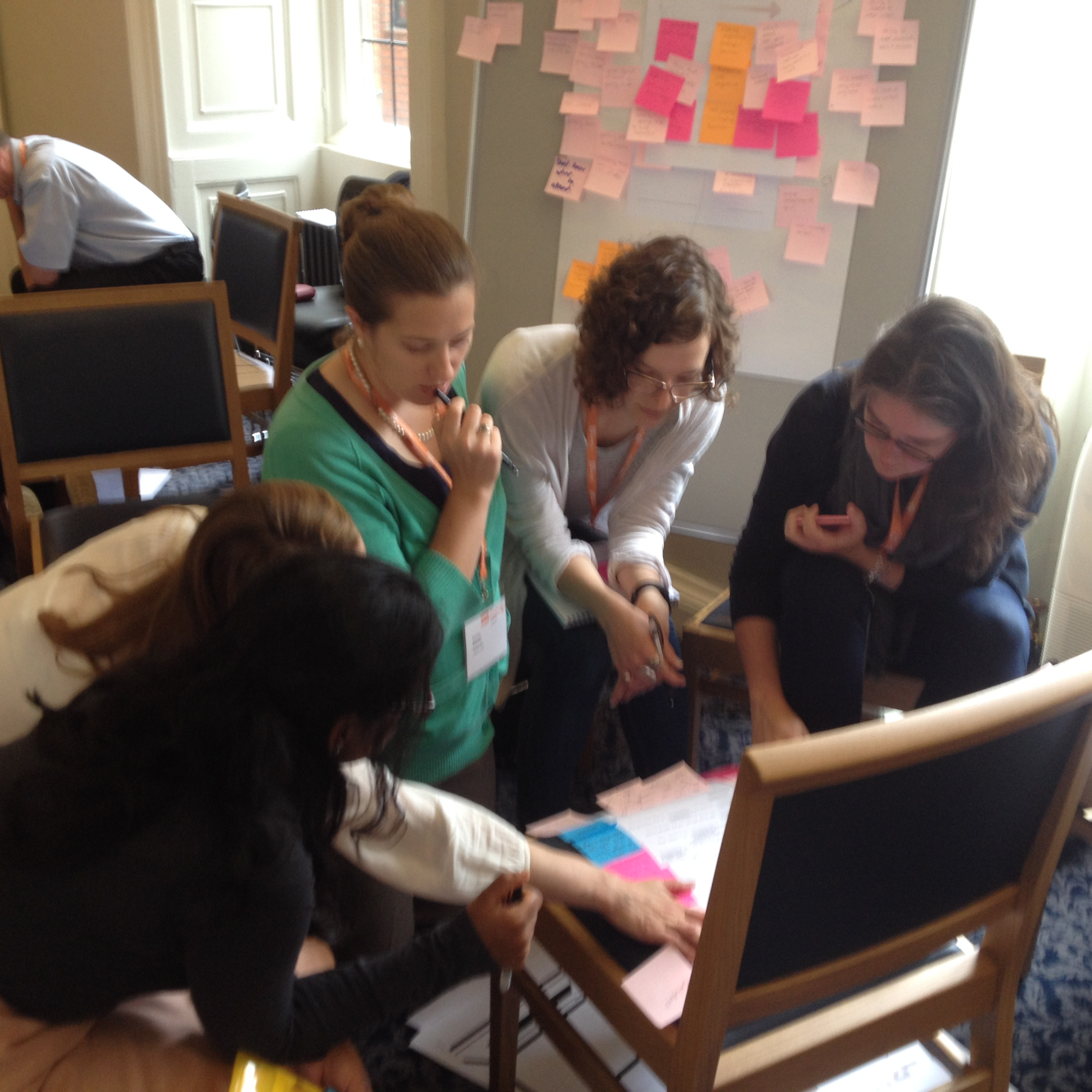 Participants discuss their challenges and tools in sharing UX insights