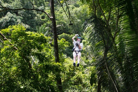 Zip Line Tour, Custom Belize Vacation Packages, SabreWing Travel