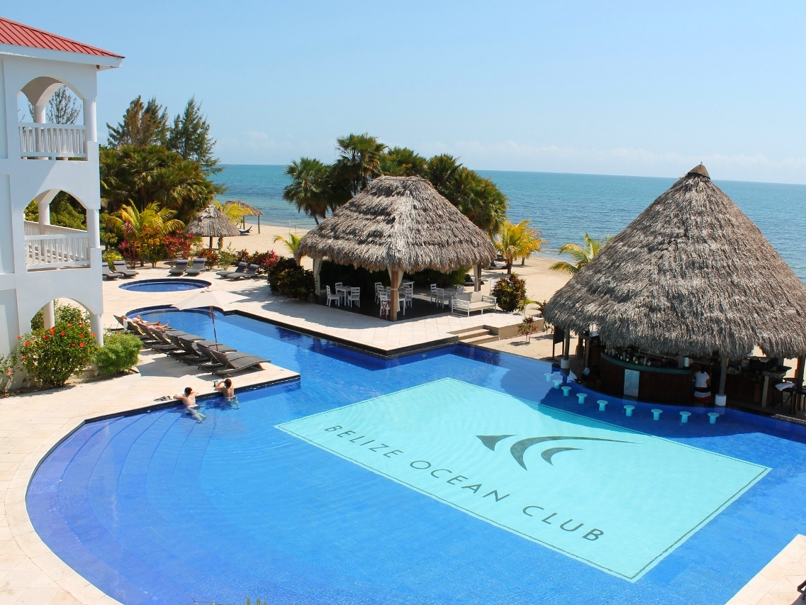 Belize Ocean Club - Belize Beach Resorts - All inclusive Vacation Packages - Placenacia - SabreWing Travel