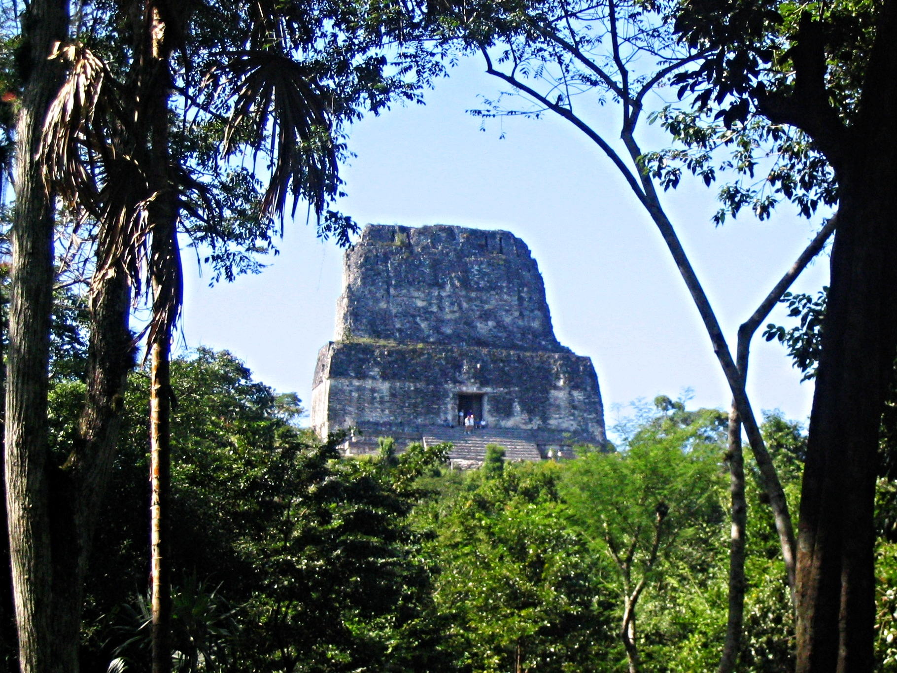 Temple Three - Tikal Maya Site - Belize Vacation Packages - Tikal - SabreWing Travel