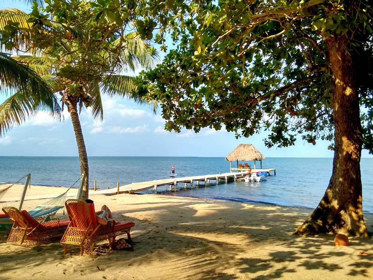 Almond Beach, Hopkins Beach, Belize