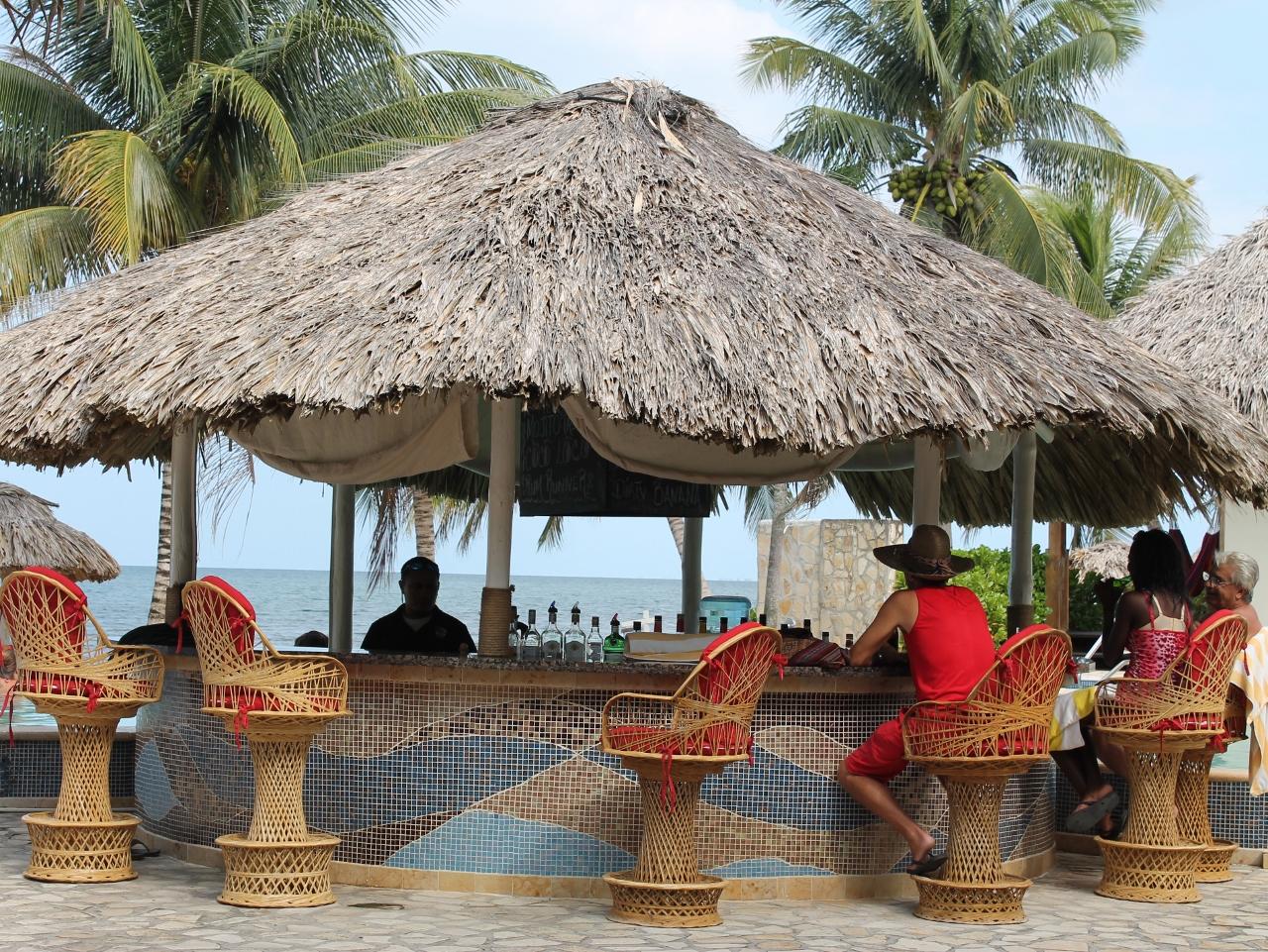 Almond Beach & Jaguar Reef Tiki Bar
