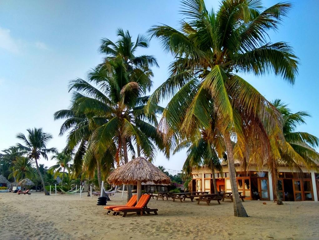 Jaguar Reef Lodge on hopkins Beach