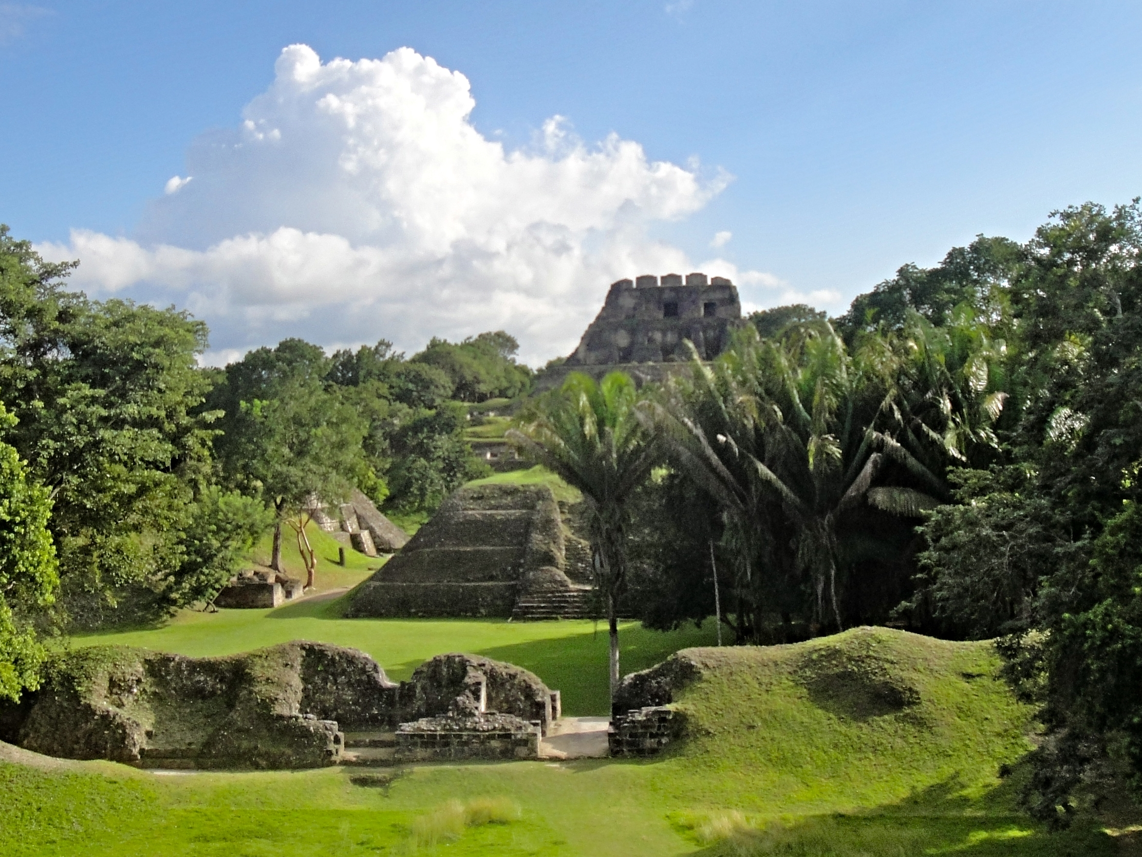 Xunantunich is one of Belize's loveliest and most accessible Maya Sites