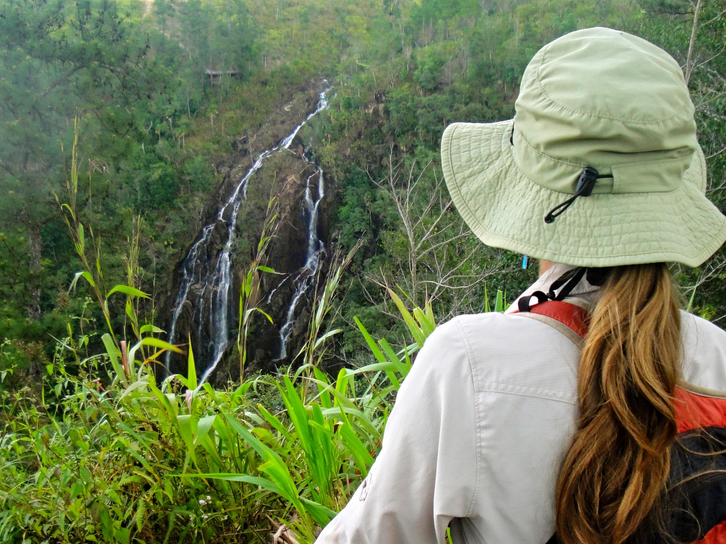 Tiger Creek Falls Overlook at Hidden Valley Inn