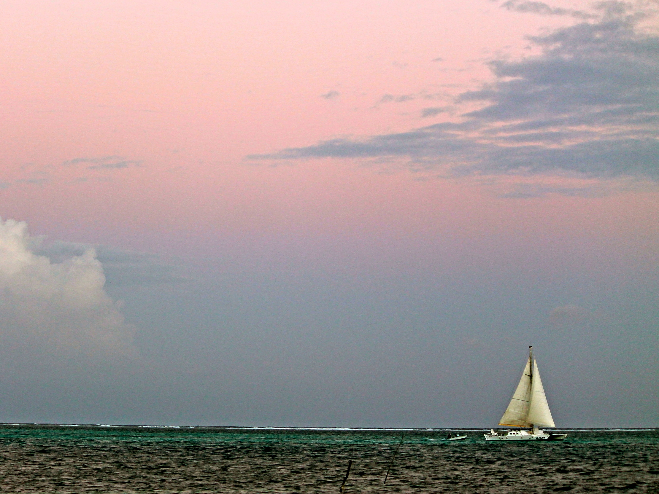 Charter a sunset sail and get away from it all in Belize