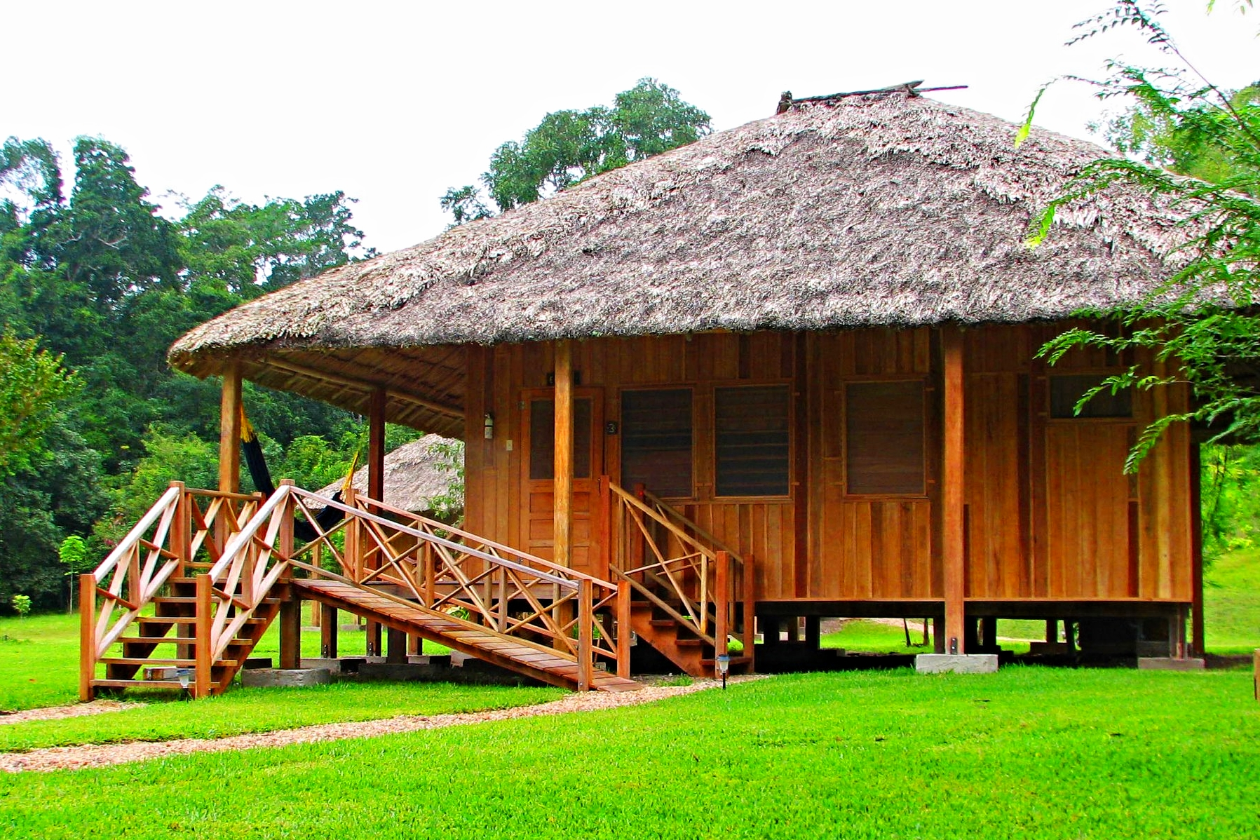 La Milpa is a Remote Eco-Lodge in the heart of the the Rio Bravo Conservation area