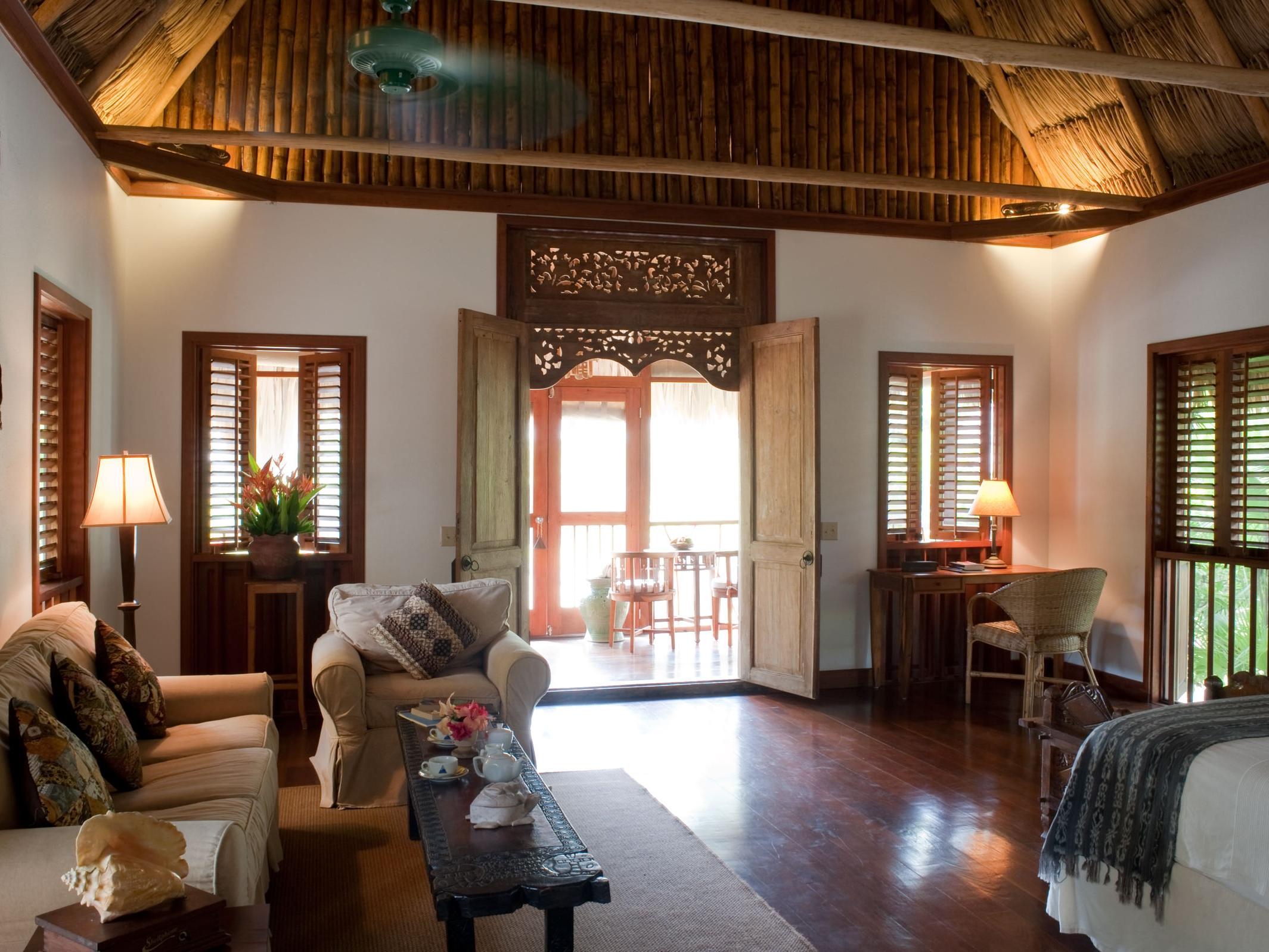 Cottage Room Interior, Turtle Inn