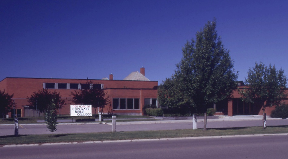 In 1996, CBC relocated to a larger campus in Strathmore, Alberta. The school later expanded to Windsor, Colorado (1998), and La Merced, Ecuador (2000).