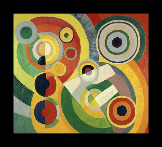 Delaunay, Robert.  The Joy of Life . 1930. WikiPaintings. Web. 7 February 2017. <www.wikipaintings.org>. This artwork is in the public domain.