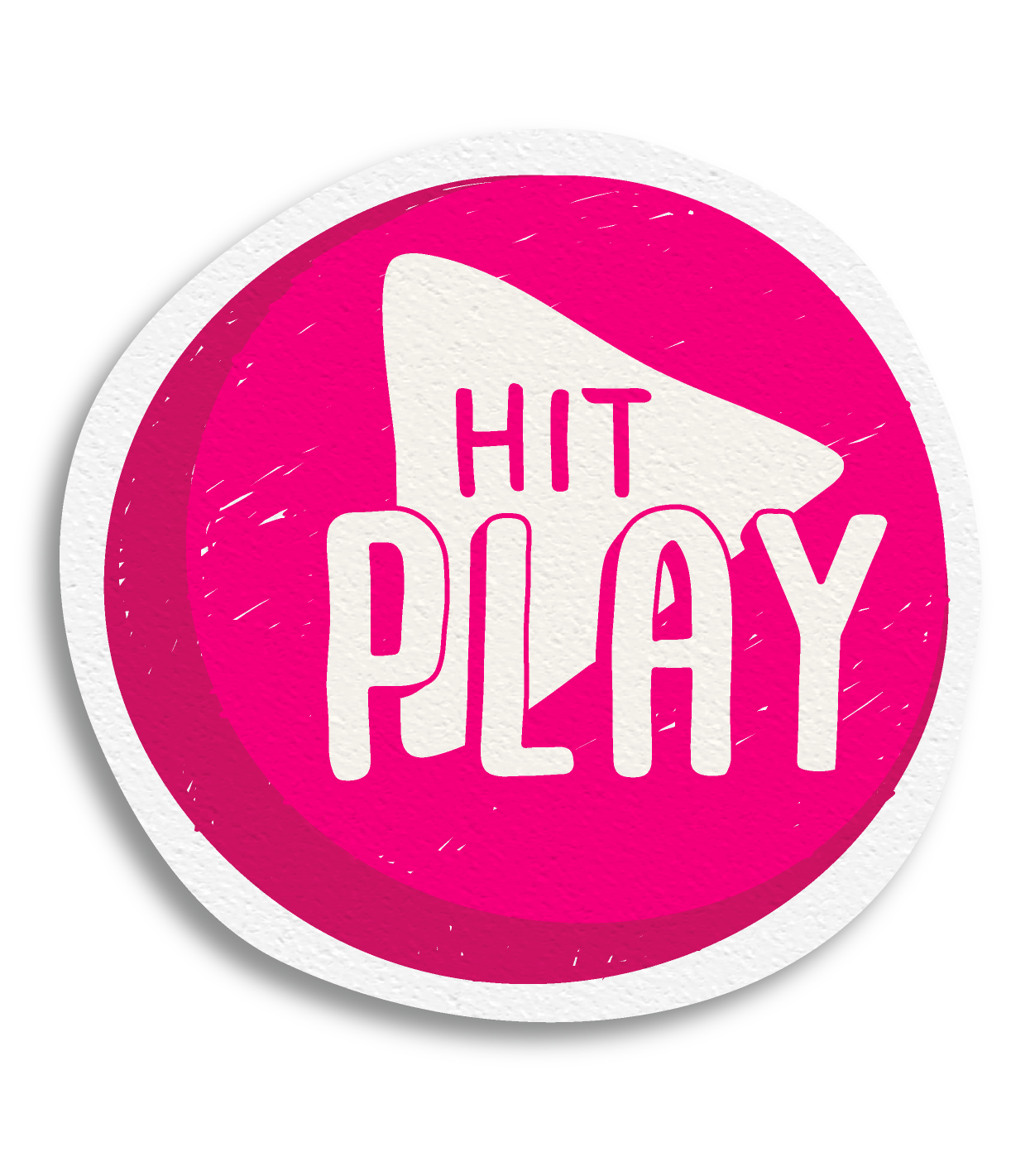 Official Hit Play logo.