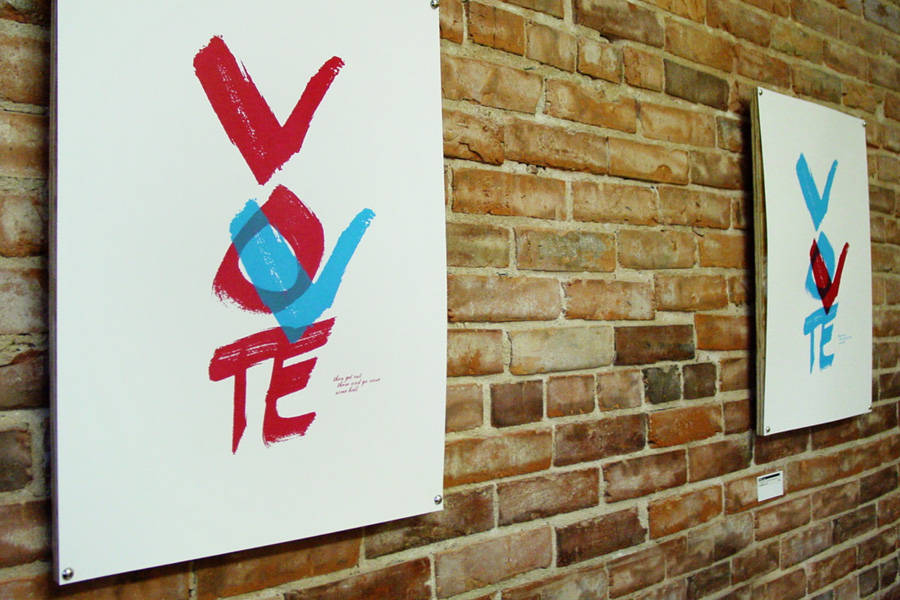 VOTE... then get out there and go raise some hell.