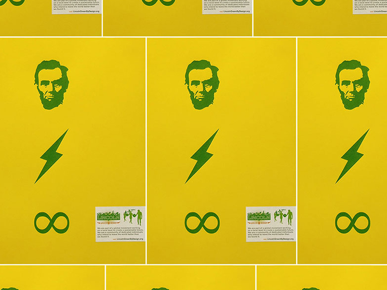 Screenprint Posters. Power Lincoln Forever.