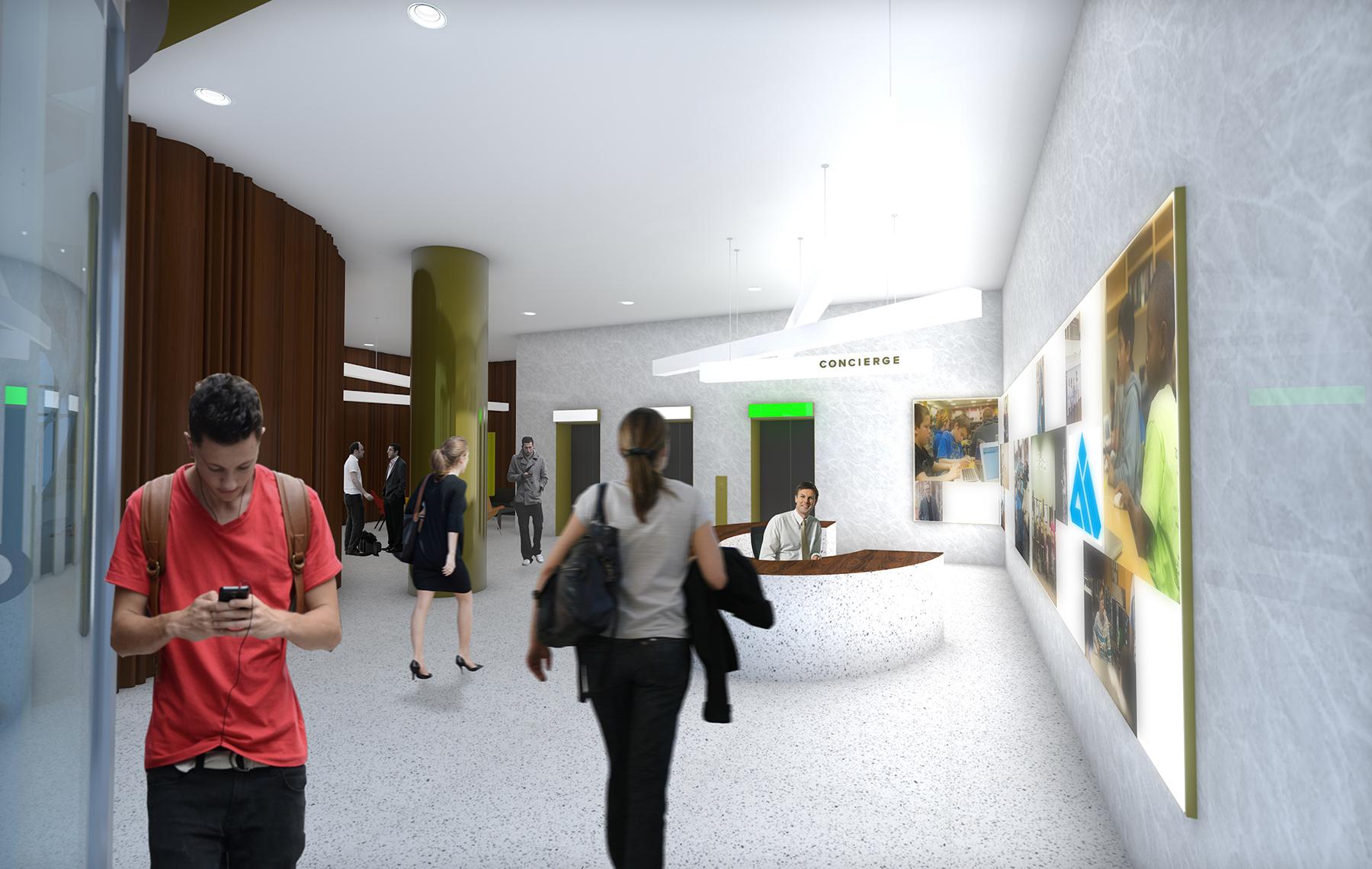 Lobby Rendering by DeOld Andersen