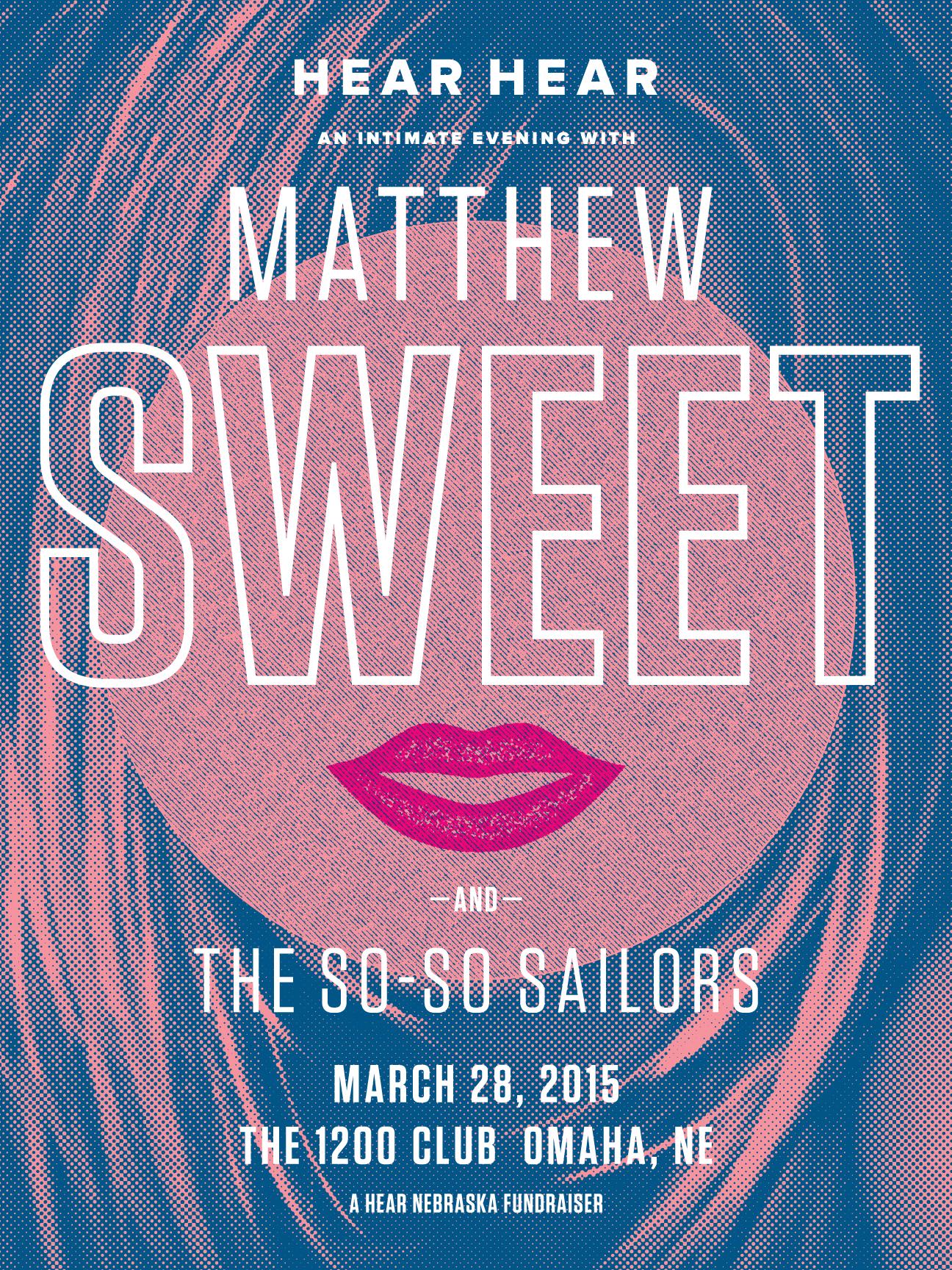 Matthew Sweet: Hear Nebraska Fundraiser 2015