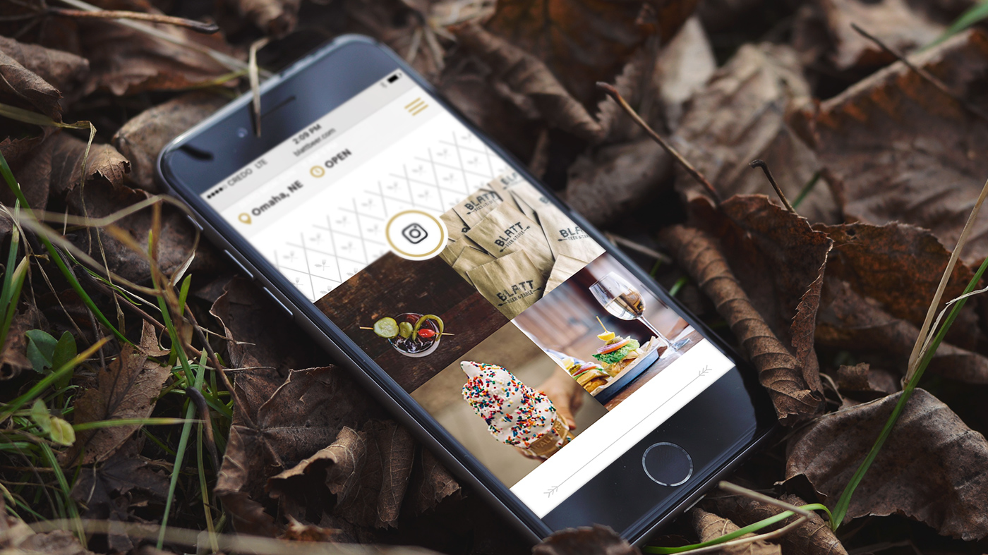 """Free  Invision Mockup #7:  """"Yay sprinkles! Yay olives! But why is this phone in a pile of leaves?"""""""