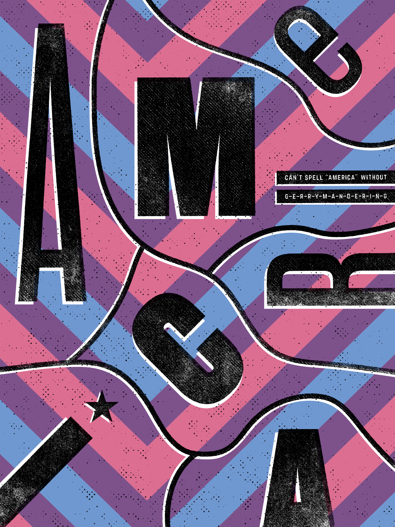 A-M-E-R-I-C-A by Justin Kemerling