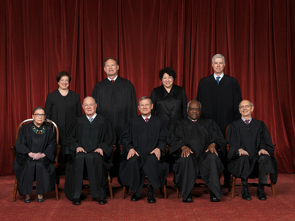 SCOTUS (before that shill Brett Kavanaugh)