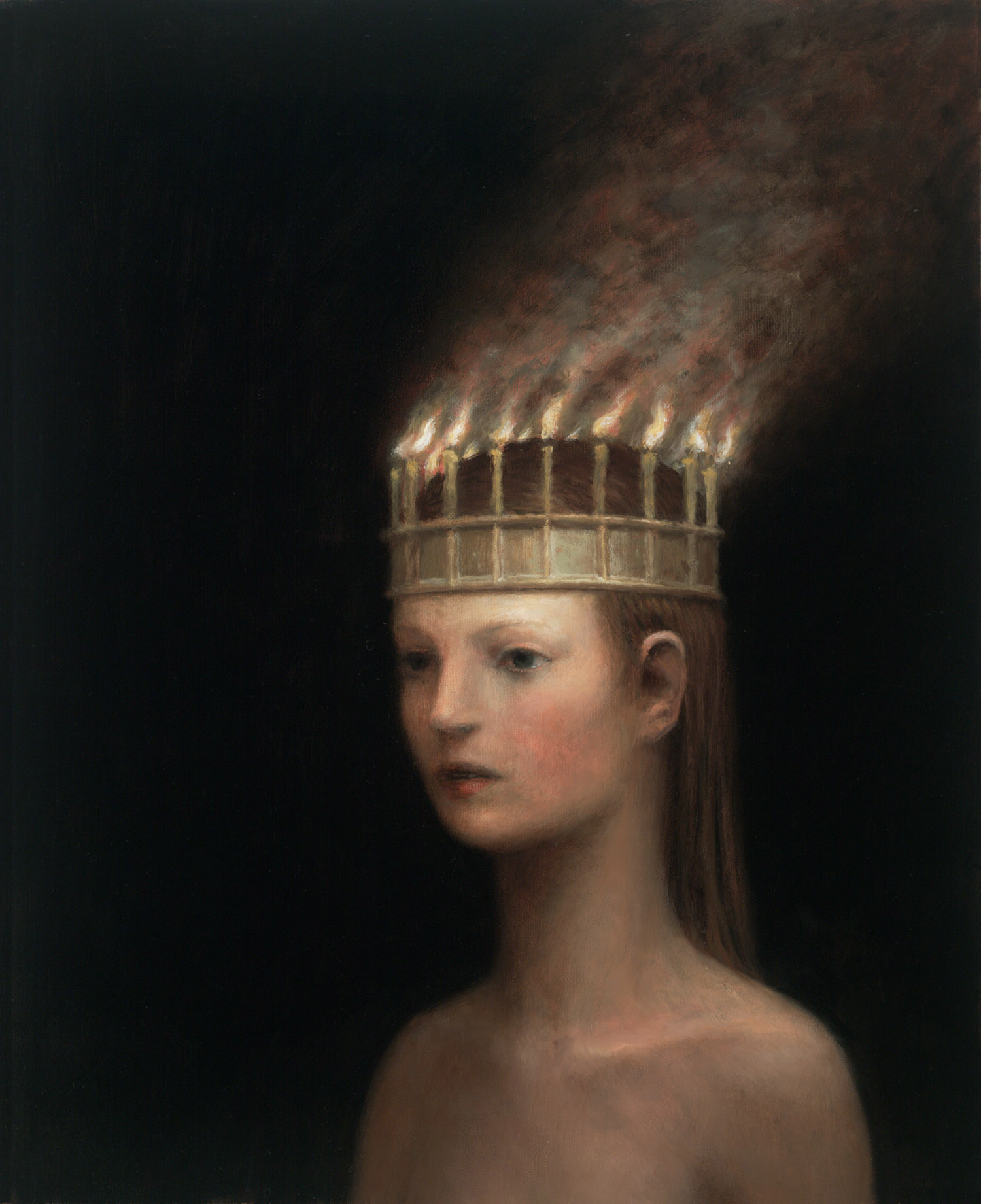 The Crown , oil on canvas, 23 x 19 in / 58 x 48 cm, 2011