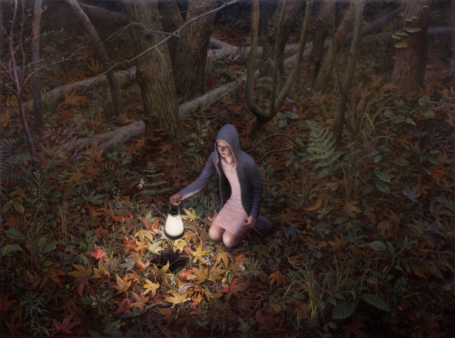 The Well , oil on canvas, 67 x 83 in / 170 x 211 cm, 2010