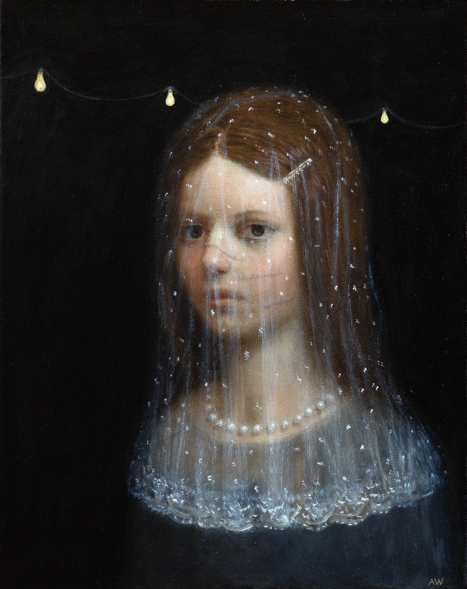 Quinceañera ,oil on canvas, 20 x 16 in / 51 x 41 cm, 2008