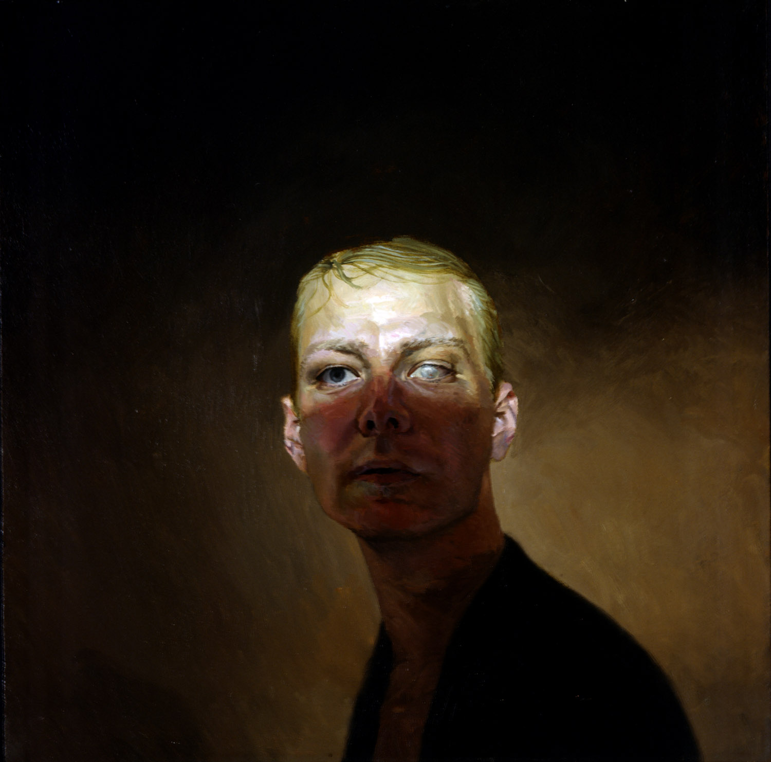 Victor , oil on canvas, 24 x 24 in, 2003