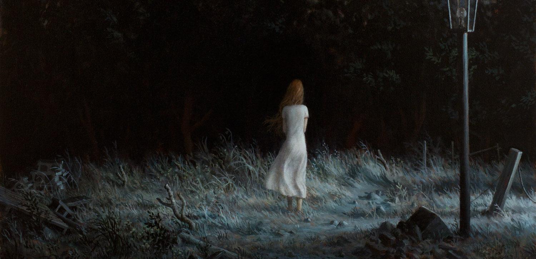 The Garden (detail) , oil on canvas, 36 x 30 in / 91 x 76 cm, 2012