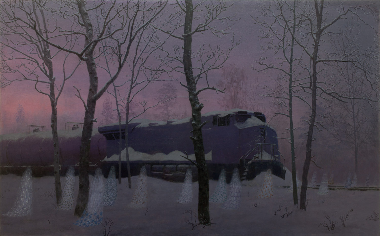 November , oil on canvas, 30.5 x 49.25 in, 2014