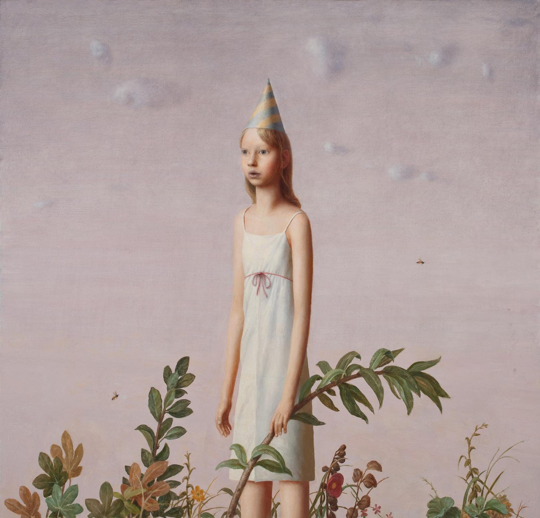 Birthday , oil on canvas, 40 x 45 in,2009