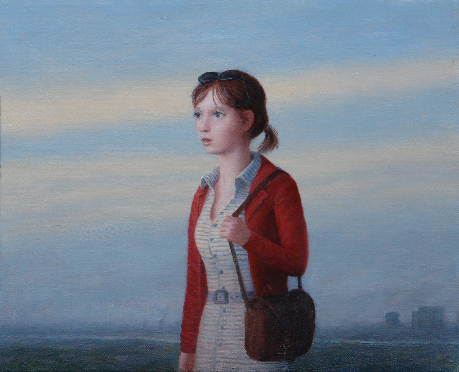 Marta , oil on canvas, 14 x 18 in, 2008