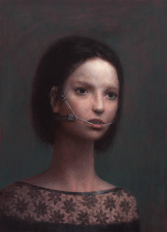 Victoria , oil on canvas, 18 x 14 in, 2011
