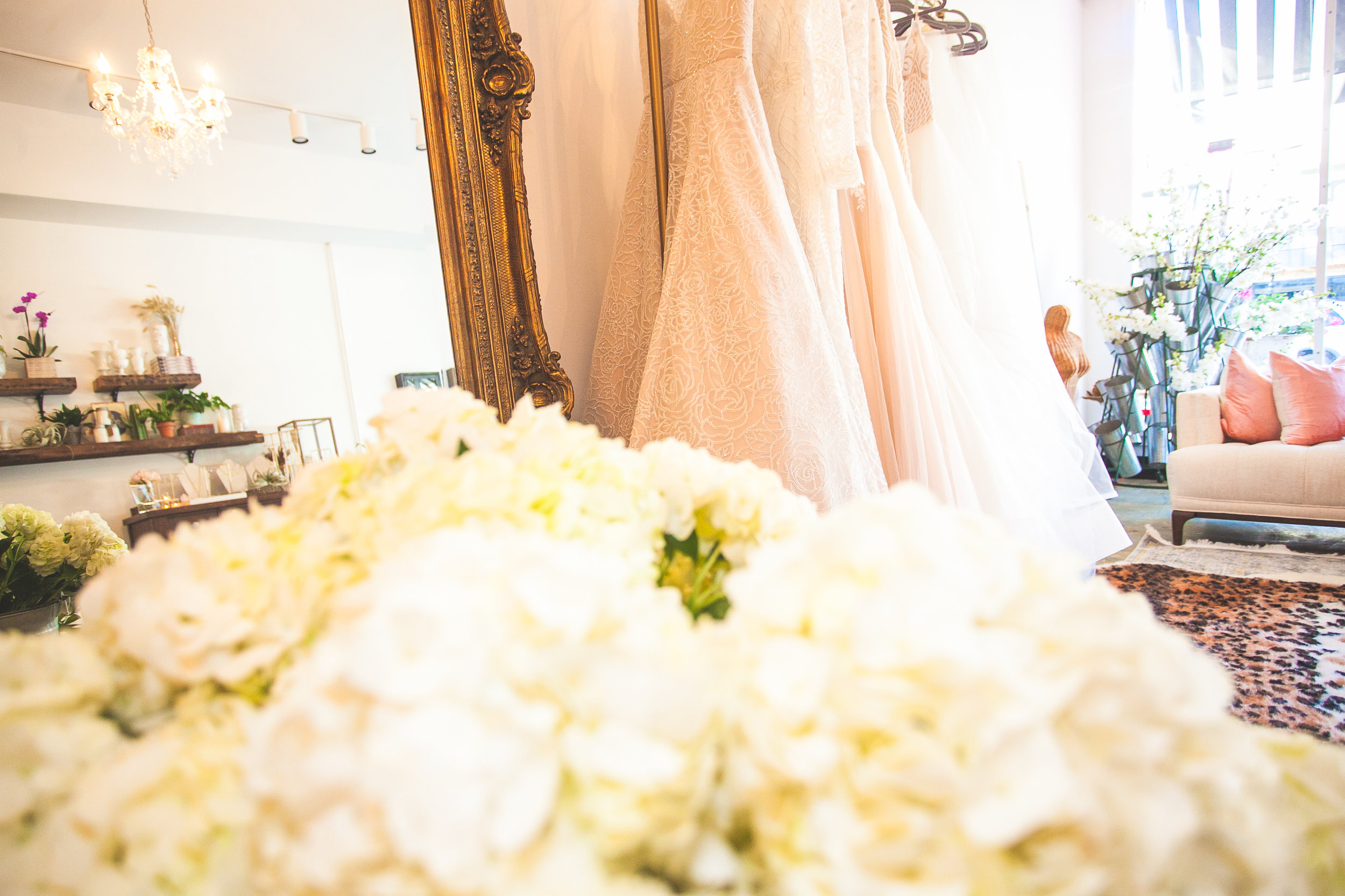 Inside of FBM Bridal 726 Arnold Ave C Point Pleasant Photography Courtesy The Aisle Photography