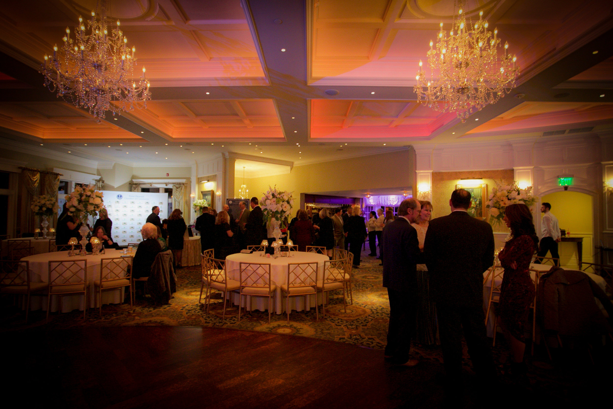 Point Pleasant Chamber of Commerce Annual President's Gala commenced on February 1, 2019 at Clark's Landing Yacht Club Point Pleasant NJ Photography courtesy The Aisle Photography