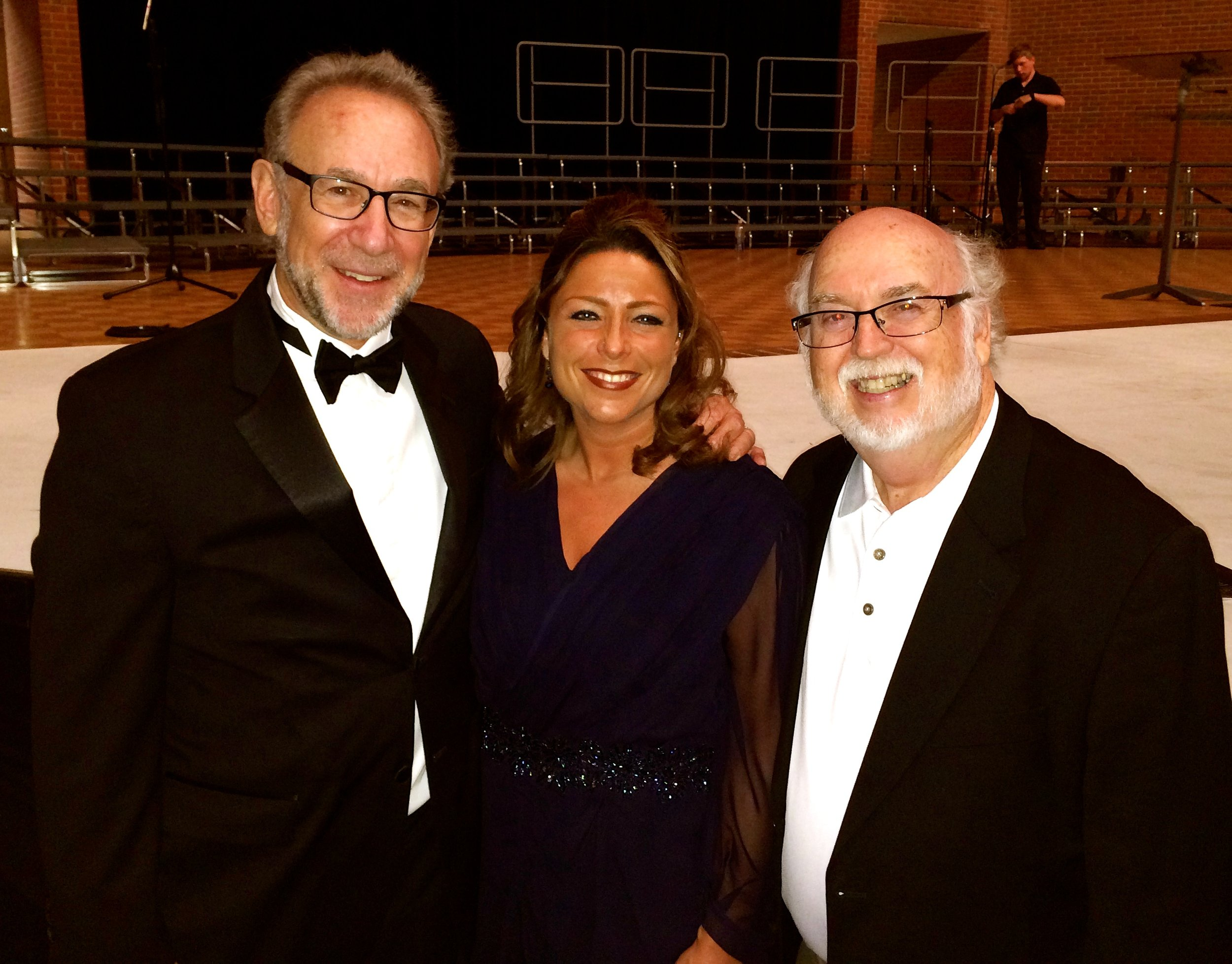 My two principal conducting teachers Bob Bernhardt and Dr. David Holsinger