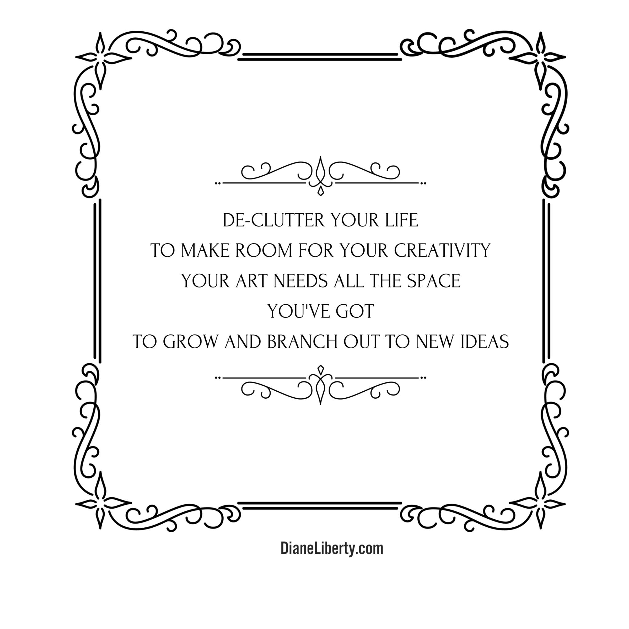 Make Room For Creativity