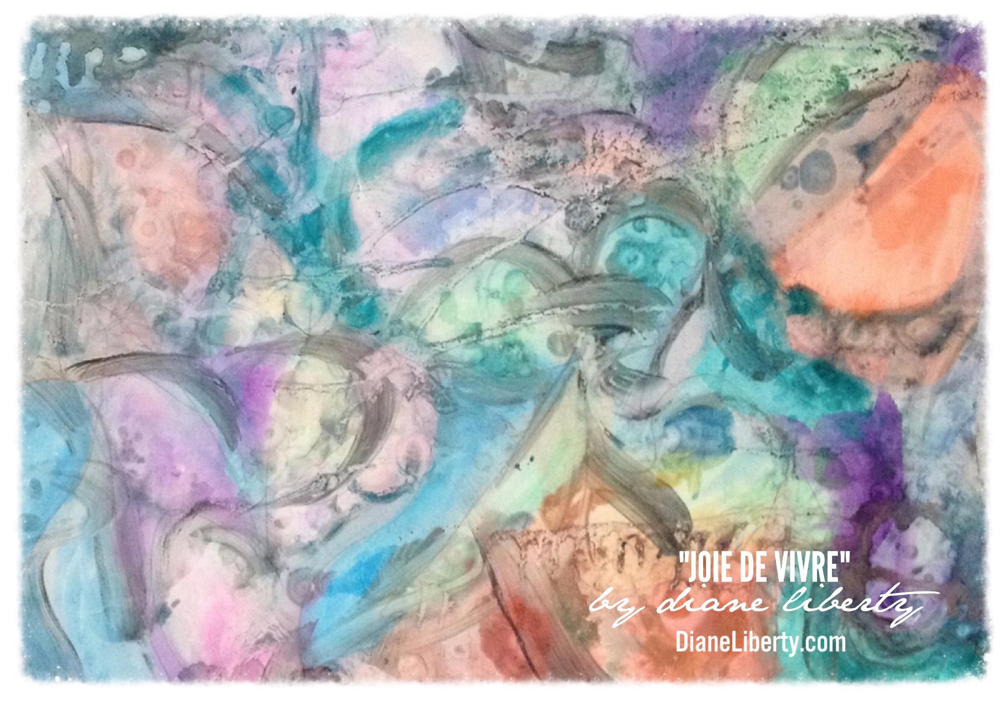 Joie De Vivre by Diane Liberty