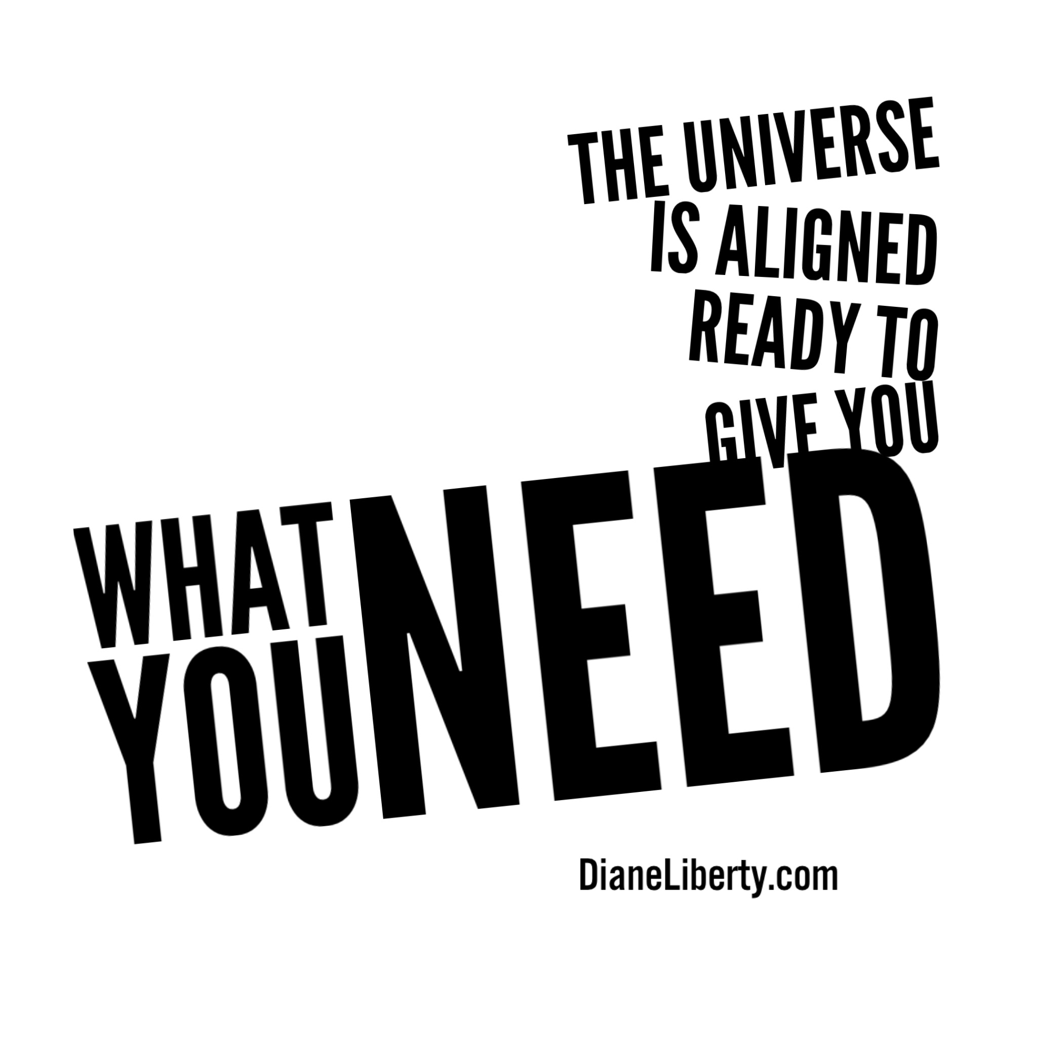 The Universe Is Aligned - Ready to give you what you need