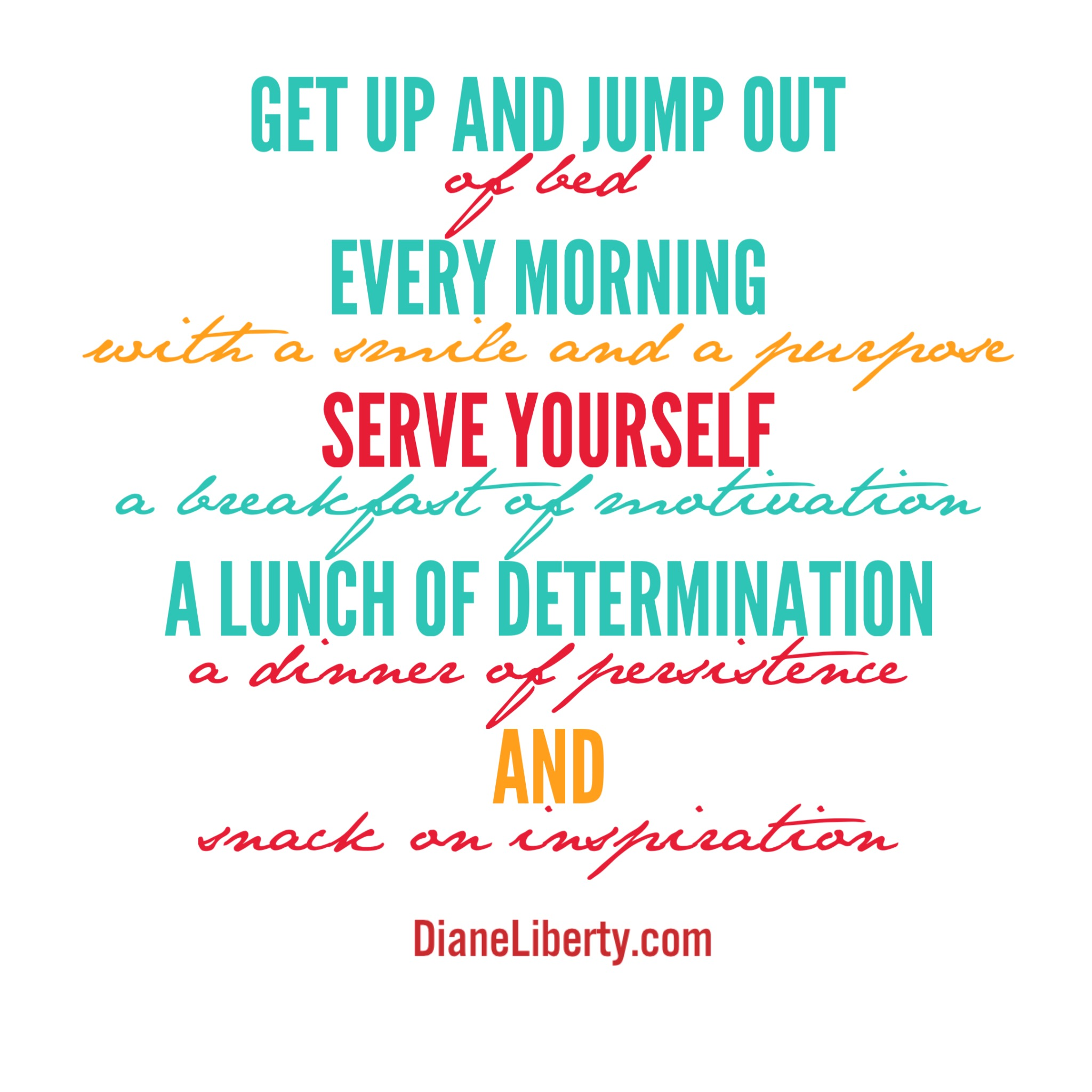 Get Up and Jump Out Of Bed