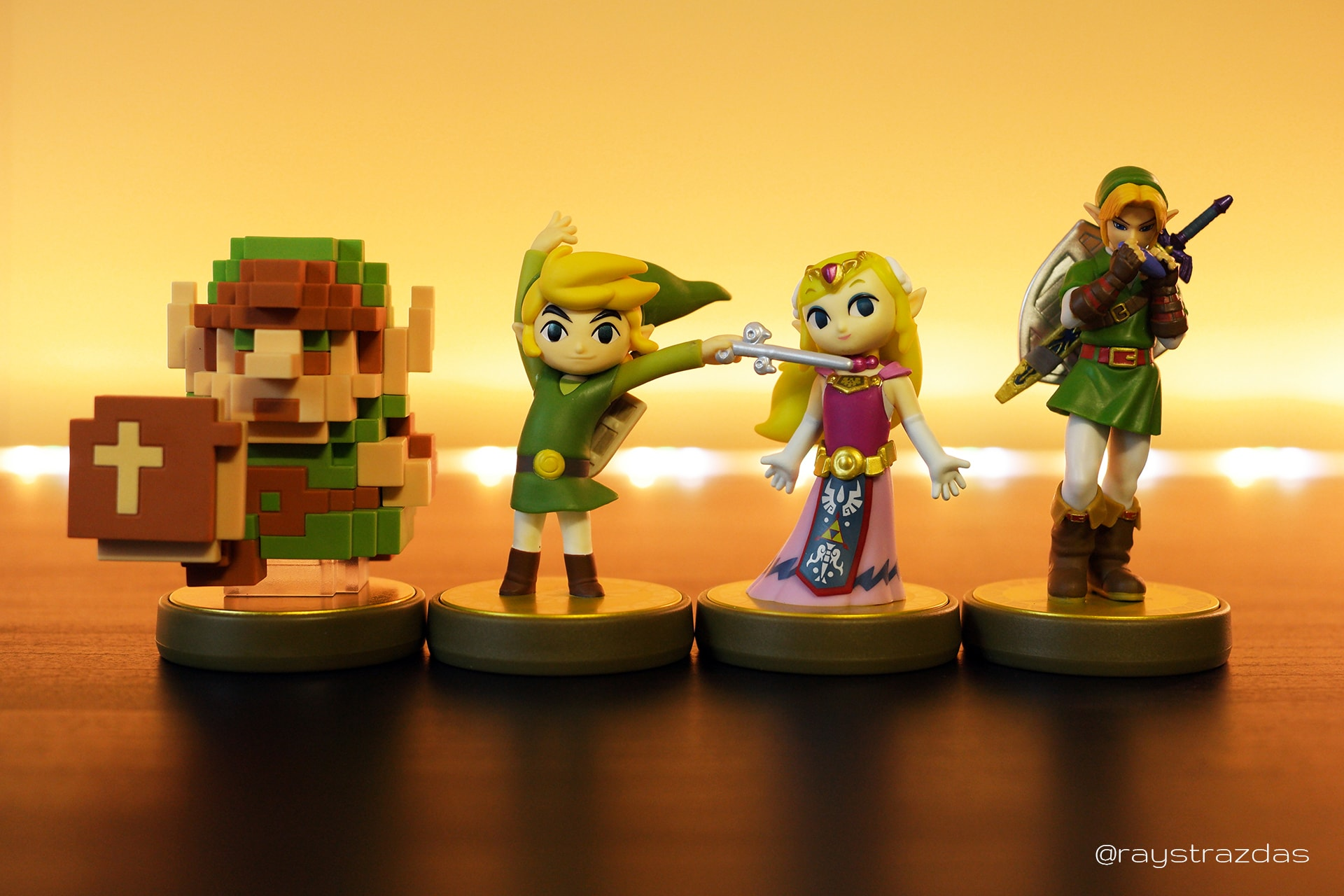 Legend of Zelda 30th Anniversary amiibo Set
